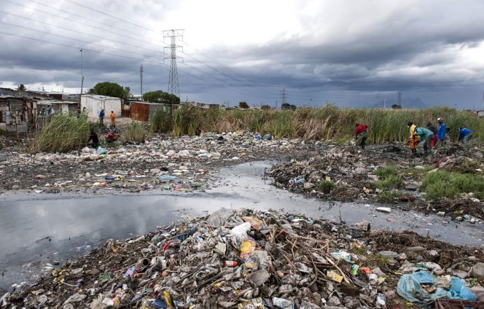 Prevention is key: Poor sanitation already plagues informal settlements such as RR Section in Khayelitsha