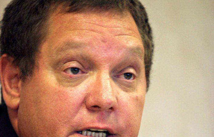 Water affairs's portfolio committee chair Johnny de Lange.