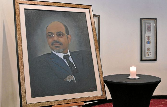 Tens of thousands of Ethiopians mourned the late strongman Meles Zenawi.