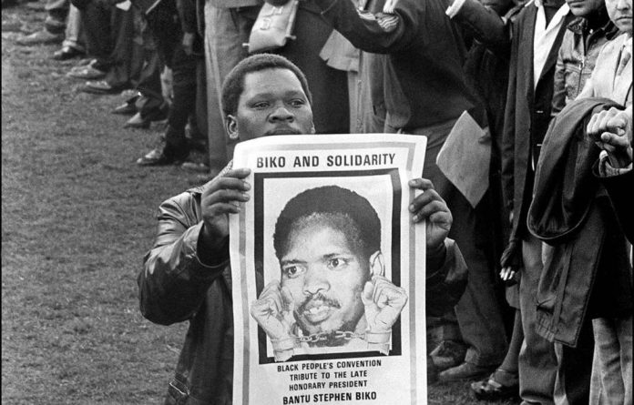 The anniversary of the death of Steve Biko