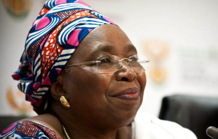 Nkosazana Dlamini-Zuma says she would like to make a