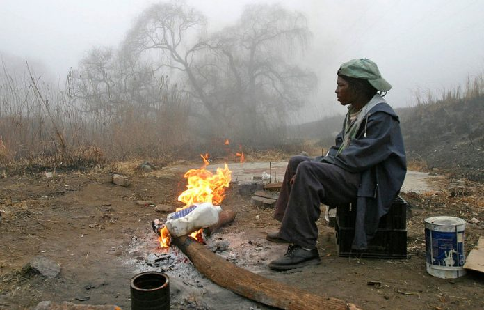 Johannesburg's homeless and downtrodden face an uncertain future as they battle to beat the cold each winter.