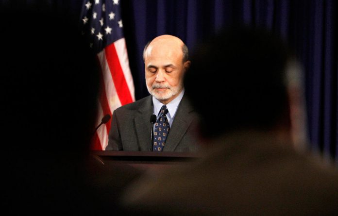 The US's Federal Reserve chairperson Ben Bernanke.