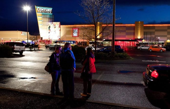 Outside Clackamas Town Centre after Oregon gunman went on a shooting spree.