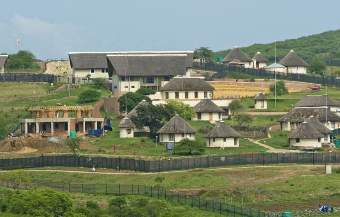 President Jacob Zuma's Nkandla home as pictured in October 2012.
