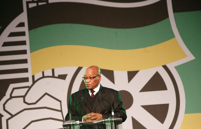 President Jacob Zuma says the ANC wants to take the South African economy in a new direction.