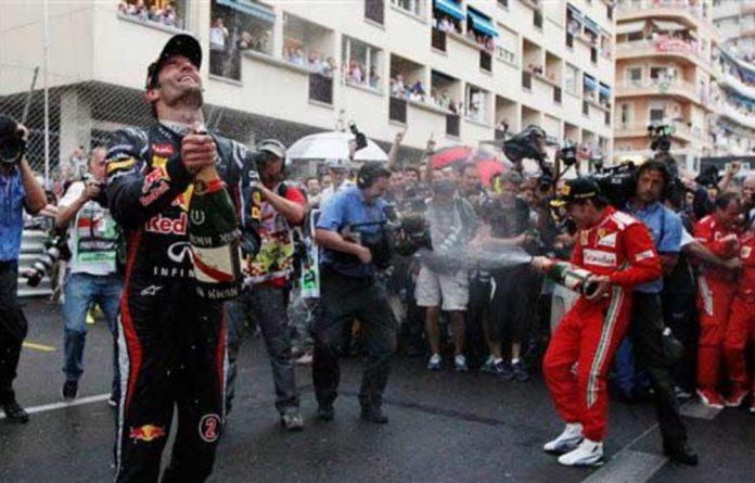 Red Bull racer Mark Webber.