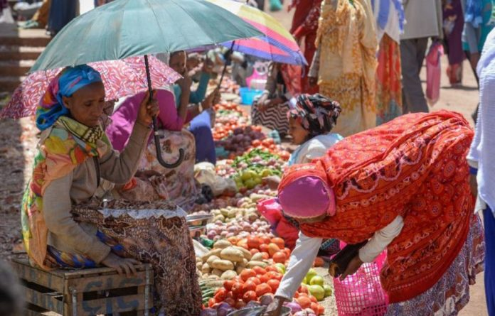 In the Eritrean town of Senafe traders are now doing good business.