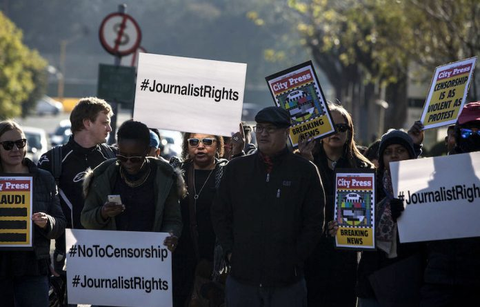The SABC8 is a group of journalists who were suspended in 2016 for speaking out about censorship at the public broadcaster. They were suspended by then chief operating officer Hlaudi Motsoeneng.