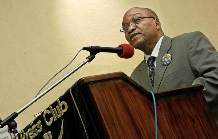 The Cape Town Press Club hosted Jacob Zuma when he was axed as deputy-president.