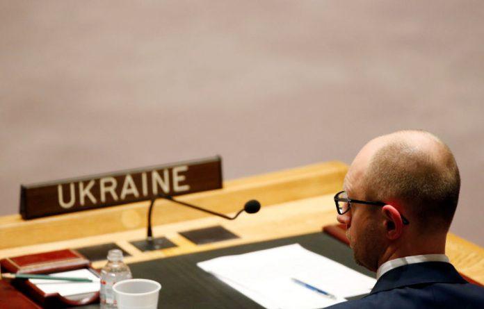Ukraine's Prime Minister Arseniy Yatsenyuk.