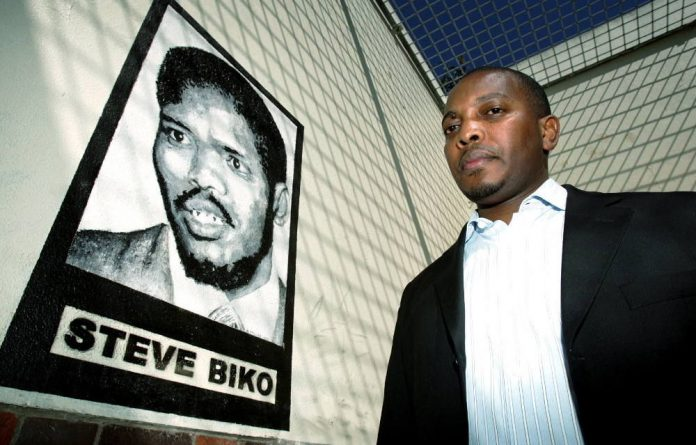 The son of the late Steve Biko