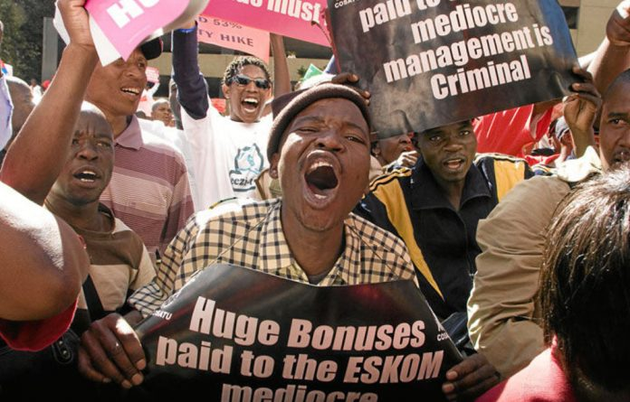 The proposed annual electricity price increases could spark a repeat of protests such as those against e-tolling.