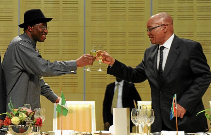 Rivalry between Jacob Zuma