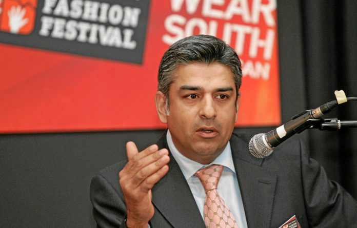 Chairperson of Transnet's board tender committee Iqbal Sharma.