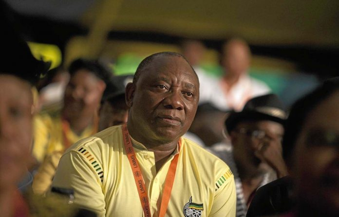 The ANC is betting on Cyril Ramaphosa attracting the citizens that Jacob Zuma won't.