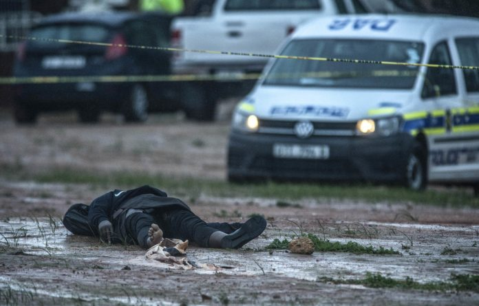 An unnamed Somali man was killed by police in a chase after he attacked worshippers at a mosque