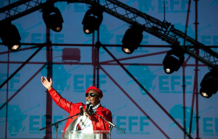EFF whips Sasco at VUT SRC elections.