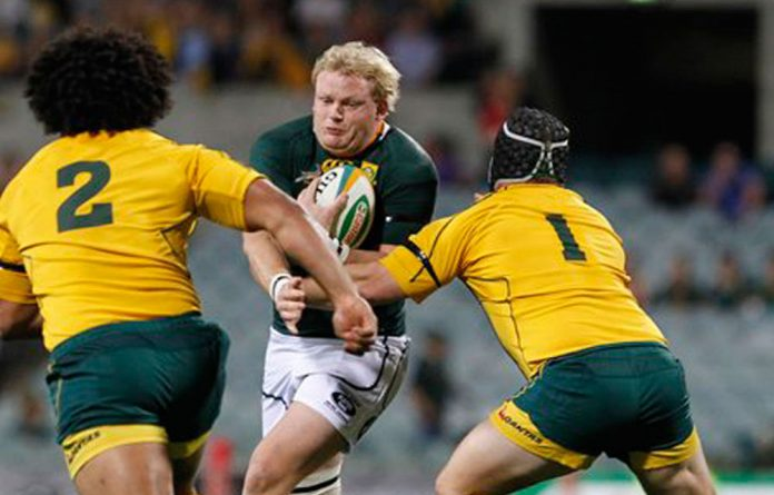 Adriaan Strauss of South Africa