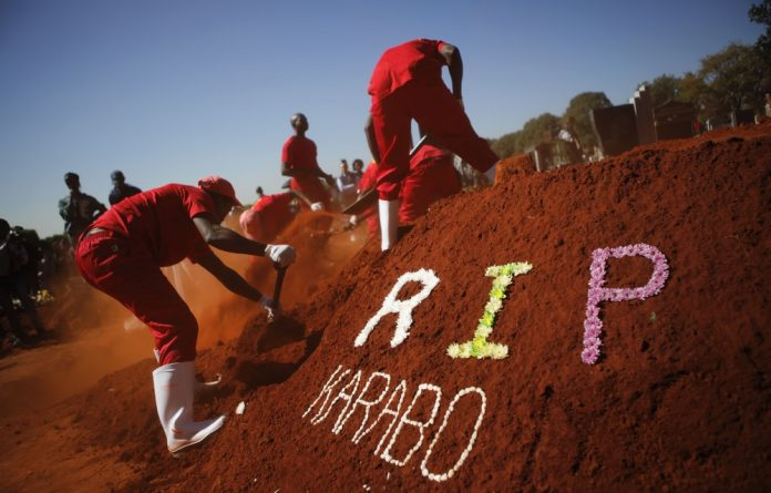 Karabo Mokoena's death elicited a public outcry about violence against women in South Africa.