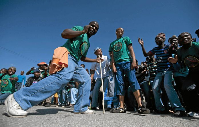 Amcu platinum workers have been on strike since January 23.