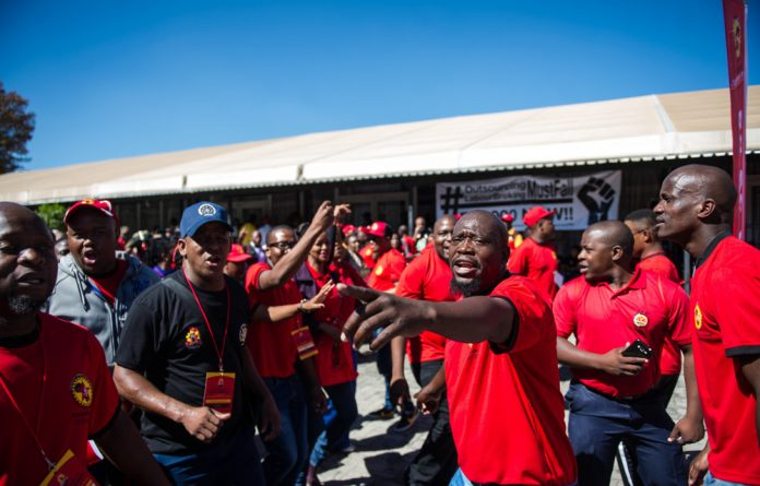"""Saftu said that the reinstatement of Detawu workers at Imperial should """"encourage other workers to resist any employers who threaten employees not to join the general strike and marches on April 25""""."""