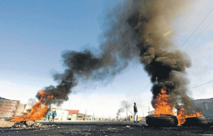 There are uses for old tyres other than burning them during protests. They can be used to build houses