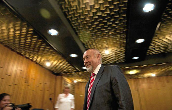 Apartheid-era chemical warfare expert Dr Wouter Basson.