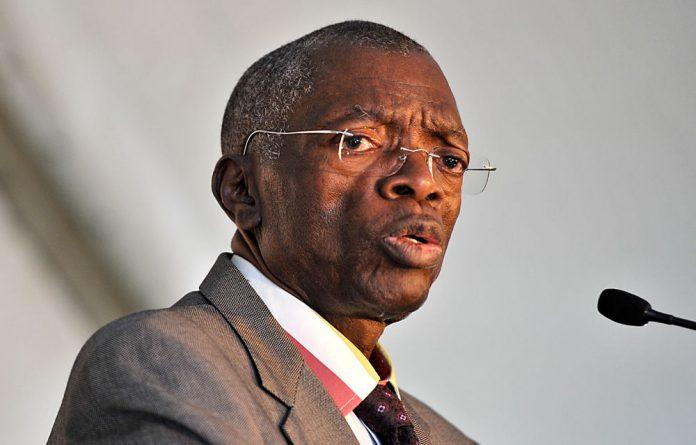 Former chief justice Pius Langa.