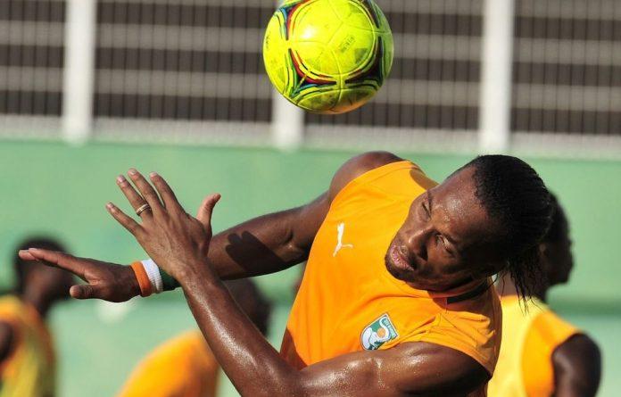 Cote d'Ivoire's Didier Drogba.