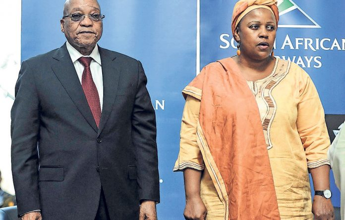 President Jacob Zuma's friendship with Dudu Myeni has come under close scrutiny