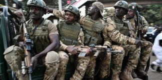 Kenyan special forces responded to al-Shabab's attack on a hotel complex in Nairobi on January 15.