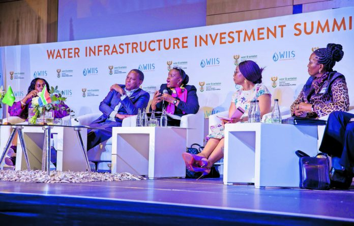 The Water Infrastructure Investment Summit held in Sandton