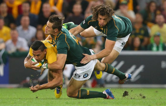 Saturday's clash between the Springboks and Australia in the Rugby Championship comes with the Boks on a high.
