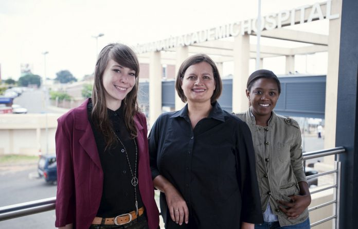 Bhekisisa bagged five awards at the Discovery Health Journalism Awards on Wednesday night. From left: Amy Green
