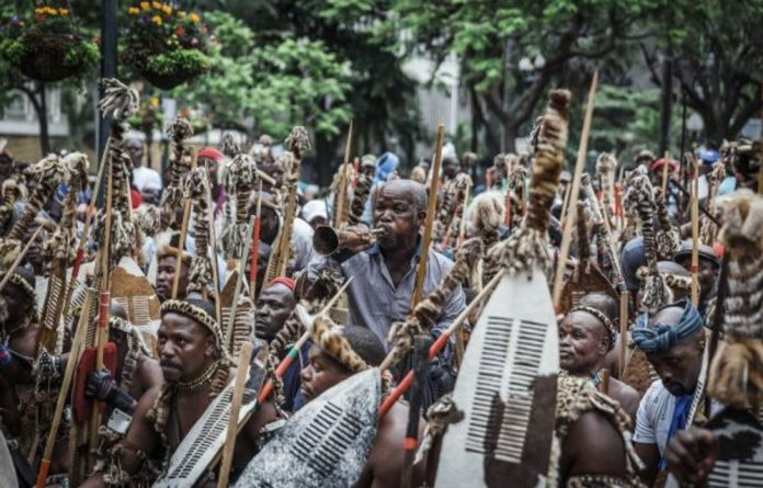 'Zwelithini and the provincial House of Traditional Leaders have started mobilising amakhosi to defend the ITB and have called on residents on tribal land to contribute to a legal fund'
