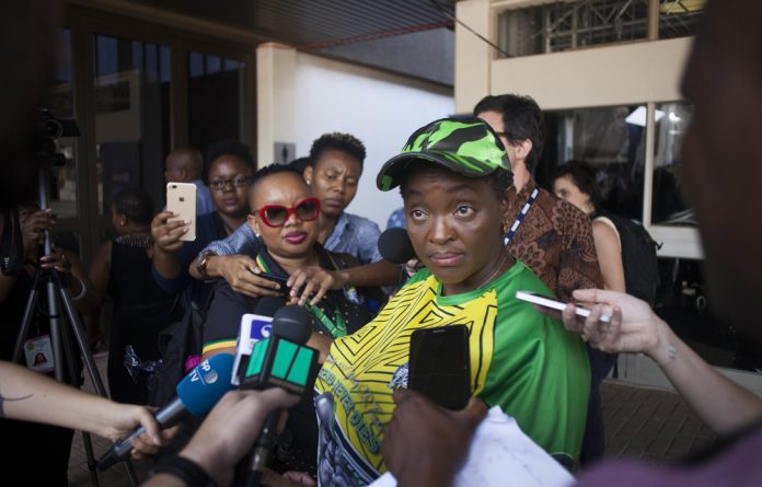 ANCWL president Bathabile Dlamini urged all female voters to carefully scrutinise the manifestos of all political parties.
