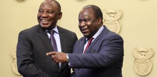 Finance Minister Tito Mboweni expressed concern in his medium-term budget speech about the large number of government departments
