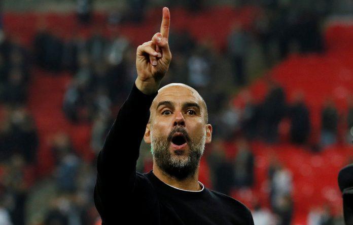 Manchester City boss Pep Guardiola.