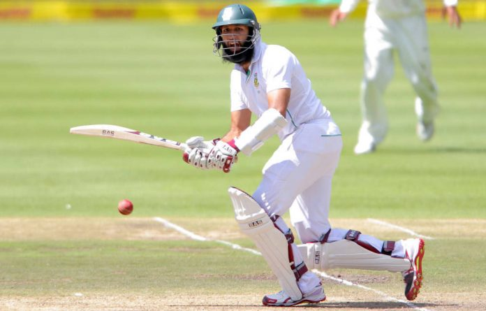 Proteas' Hashim Amla during day four of the second Castle Lager Test match between South Africa and Pakistan at PPC Newlands on January 6 in Cape Town.