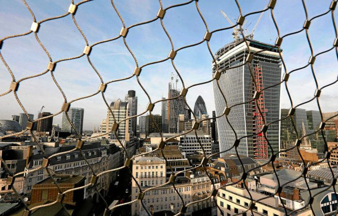 Distorted outlook: London's financial district has been rocked by the allegations of rigging in forex markets.