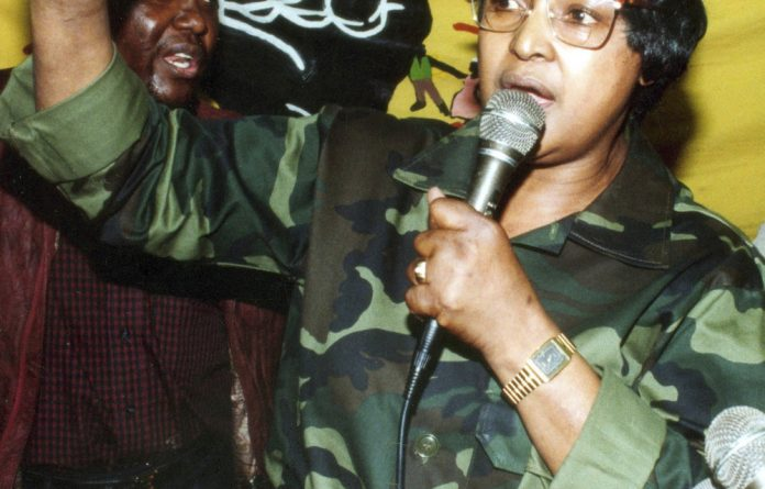 A rock: Winnie Madikizela-Mandela refused to bend to the forces of oppression.