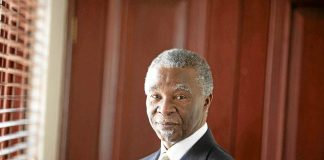 In step: Thabo Mbeki insists that