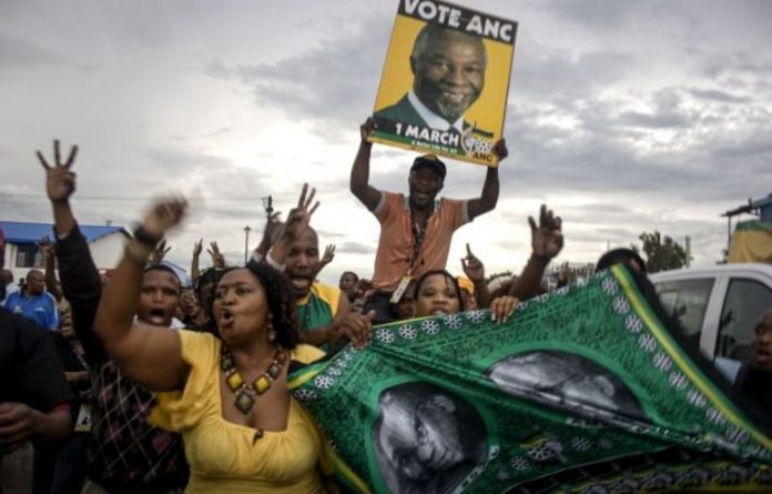 Slate politics was established at the ANC national conference in Polokwane when Jacob Zuma faced off against the party's president Thabo Mbeki. this was the beginning of two distinct political camps.