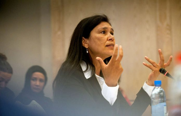 Advocate Roseline Nyman was one of the candidates for the high court Cape Town Bench.