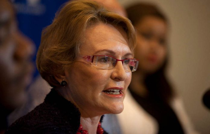 Democratic Alliance leader Helen Zille.
