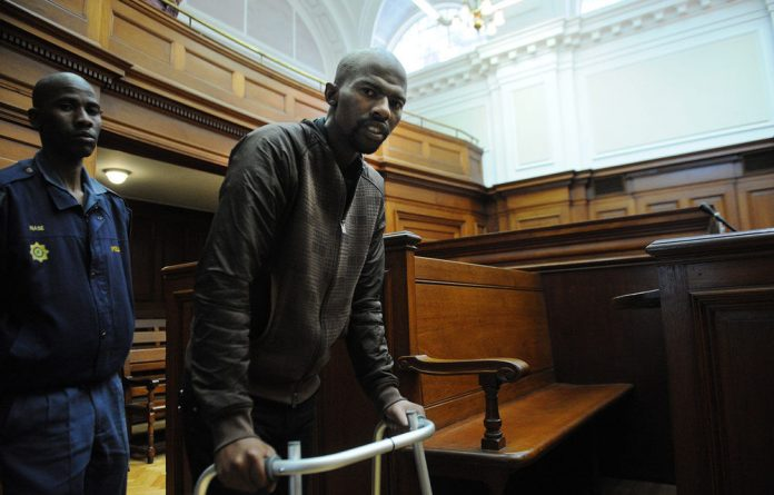 Xolile Mngeni appears in the Cape Town High Court in connection with the murder of Anni Dewani in Cape Town.