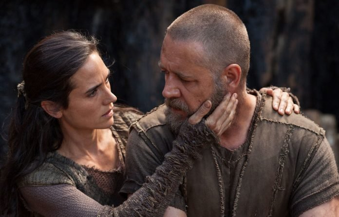 Russell Crowe and Jennifer Connelly in 'Noah'.