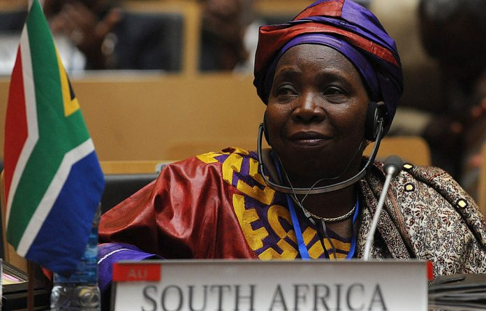 Home Affairs Minister Nkosazana Dlamini-Zuma will take over the top spot of the African Union Commission from sitting chairperson Jean Ping.