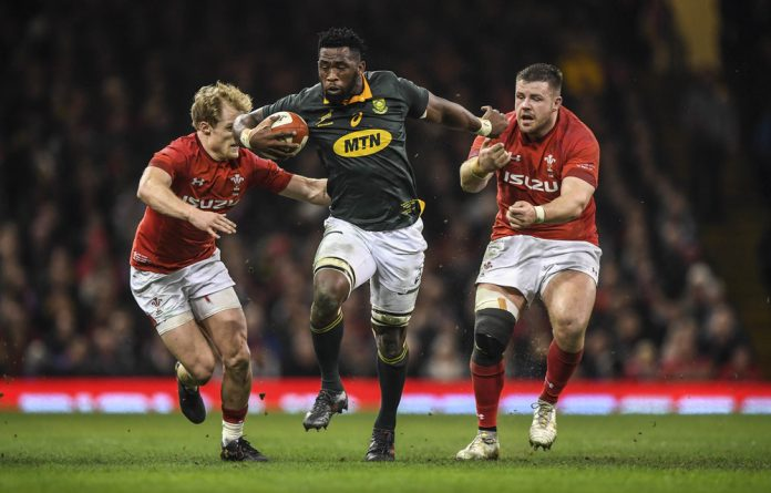Everyone scores: Siya Kolisi will take charge of the Springboks next week. He will be the first black rugby player to do so in a Test but
